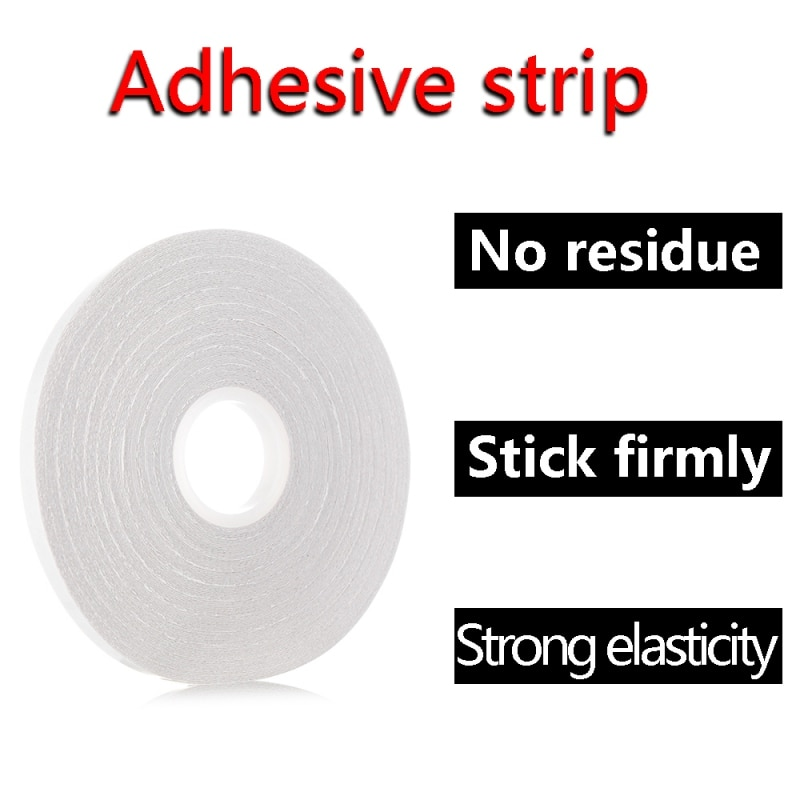 White Double Sided Sewing Accessory Adhesive Fabric Tape Hand-sewn Temporarily Fixed Sewing Accessory Sewing Tools Dropshipping