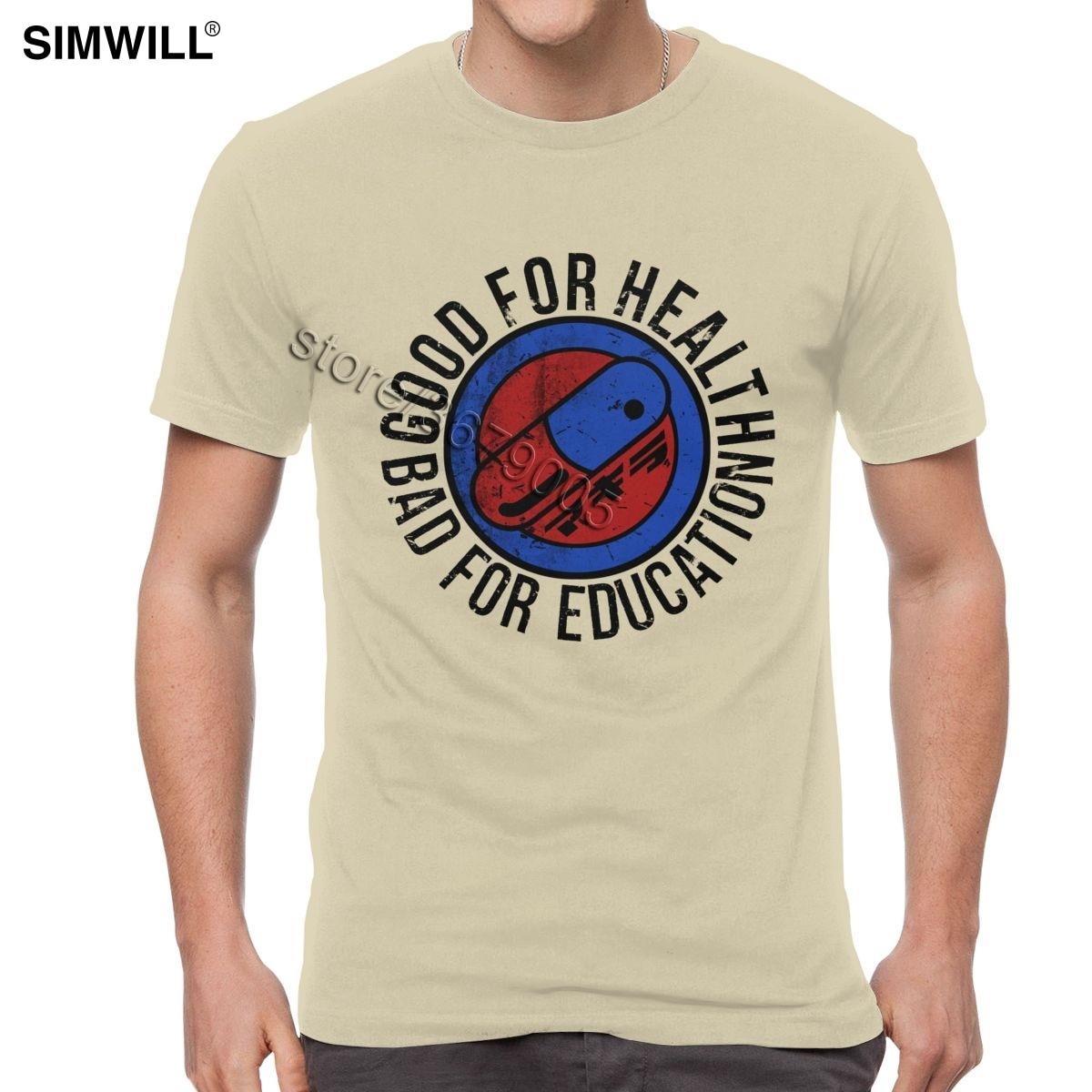 Verano nuevas camisetas Camisa de algodón 100% para hombre Neo camiseta con...