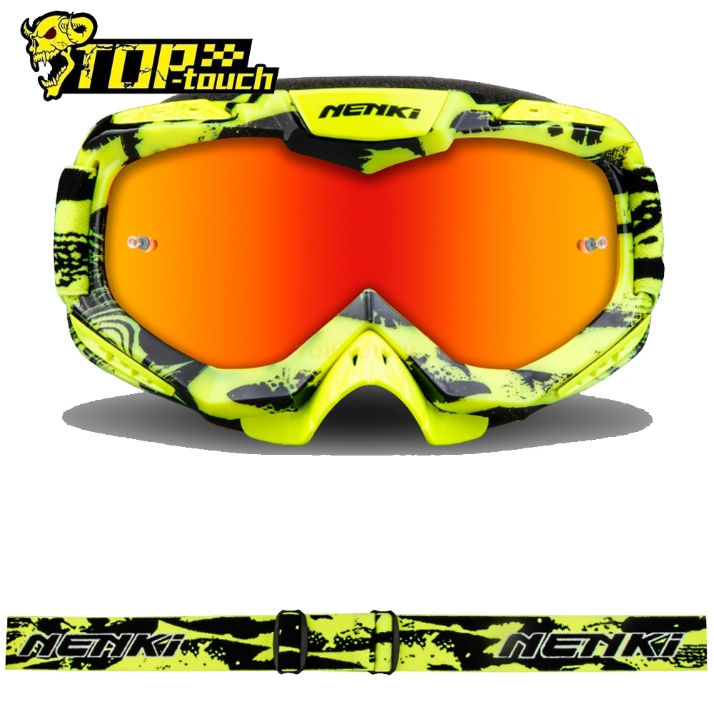 dustproof motocross glasses adjustable motorcycle goggles breathable full face protective dirt bike motorbike dirt bike off road Motorcycle Glasses Windproof Motocross Helmet Goggles Dustproof Racing Riding Off-Road Dirt Bike Protective Glasses Women Men