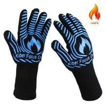 Термостойкие синие силиконовые перчатки Микроволновая печь для барбекю микроволновая печь для защиты рук