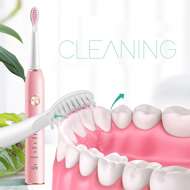 Timer Sonic Electric Toothbrush USB Rechargeable 5 Modes Ultrasonic Automatic Bush Waterproof Dental Brush Teeth Whitening enlarge