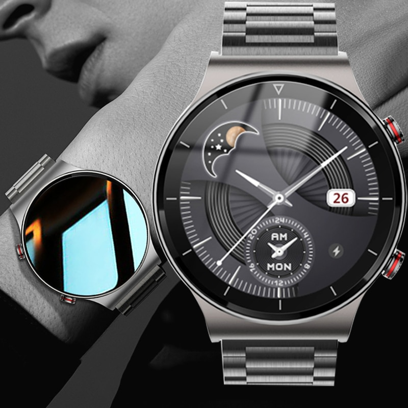 Smart Watch Men 2021 Bluetooth Call Android Smartwatch Blood Pressure Ecg 1G Smart Watch For Xiaomi Iphone IOS Huawei GT 2 Pro