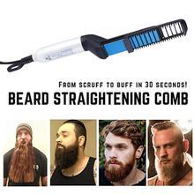 Super rapide hommes barbe lisseur Multi fonctionnel cheveux peigne friser bigoudi cheveux peigne de coiffure