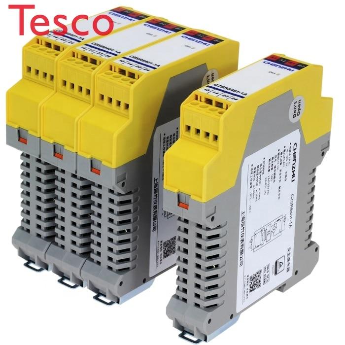 CZSR8301-3A1B relais de sécurité 4 fils safetymat   24V DC/AC   3NO + 1NC   Réinitialisation automatique/manuelle CHENZHU