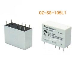 Frete Grátis TE 10 pçs/lote 100% original novo OEG relé de potência OZ-SS-105L1 5VDC OZ-SS-112L1 12VDC OZ-SS-124L1 24VDC 16A 8PIN