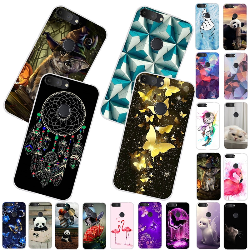 Case For Alcatel 1S 1 S 2019 5.5 Inch Cute Animal Soft TPU Phone Case Silicone Back Cover Funda For Alcatel 1S 5024d Case Bumper