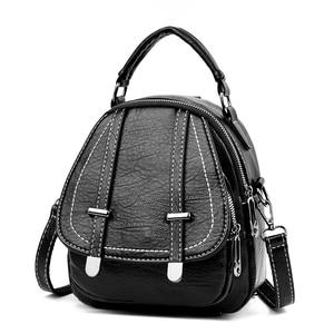 Luxury Handbags Women Bags Designer Soft Leather Lady Shoulder Bag Fashion Multi-Function Crossbody Bags for Women Mini Backpack
