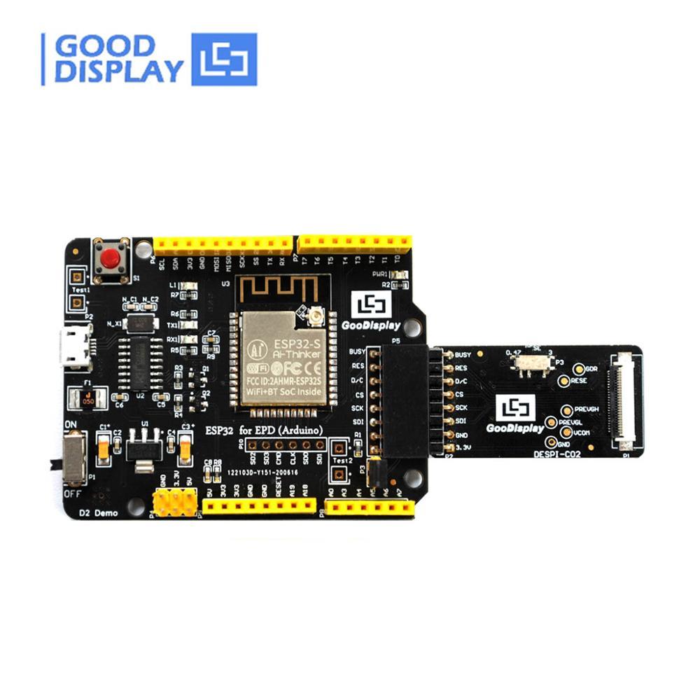 arduino-pantalla-de-papel-electronico-kit-de-demostracion