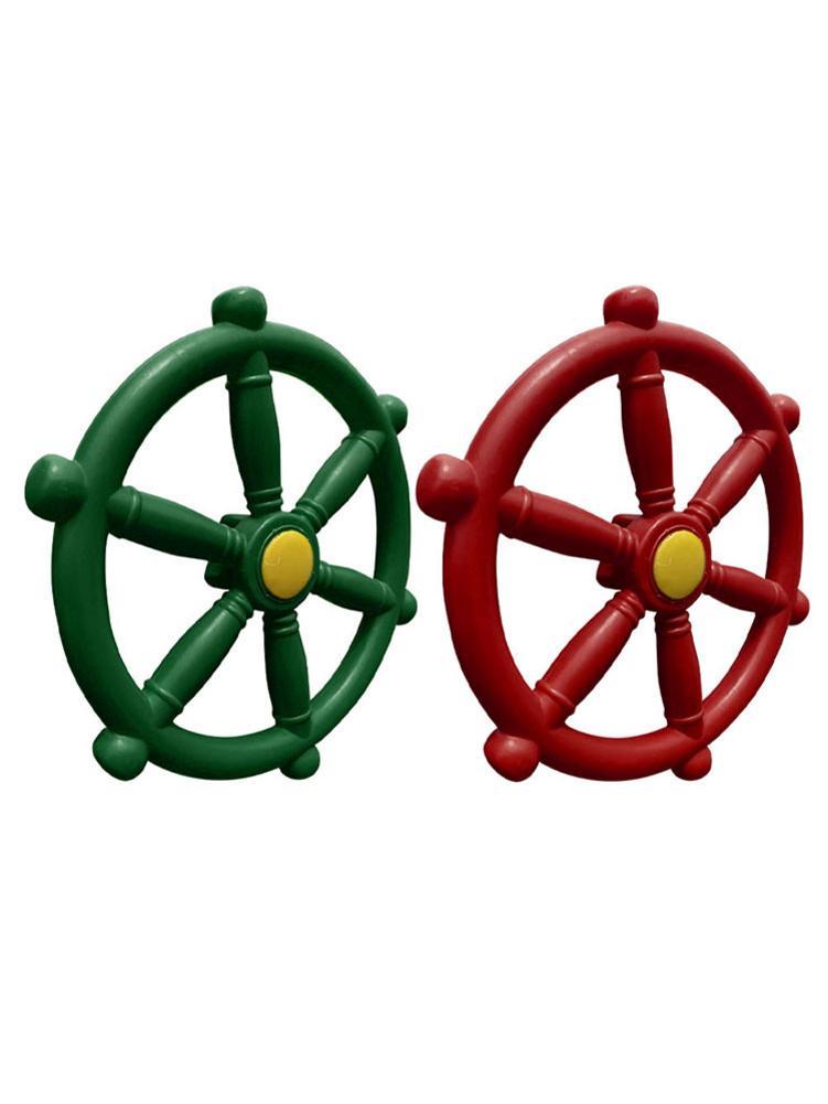 Pirate Ships Wheel Plastic Ship Steering Wheel Playground Ships Wheel For Amusement Park Outdoor Fun
