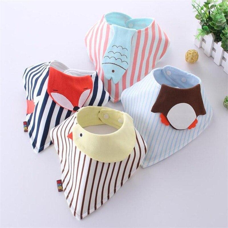 Мультяшные детские нагрудники хлопковый для новорожденных Babana для девочек и мальчиков, полотенце для детей Детское питание малыша аксессу...