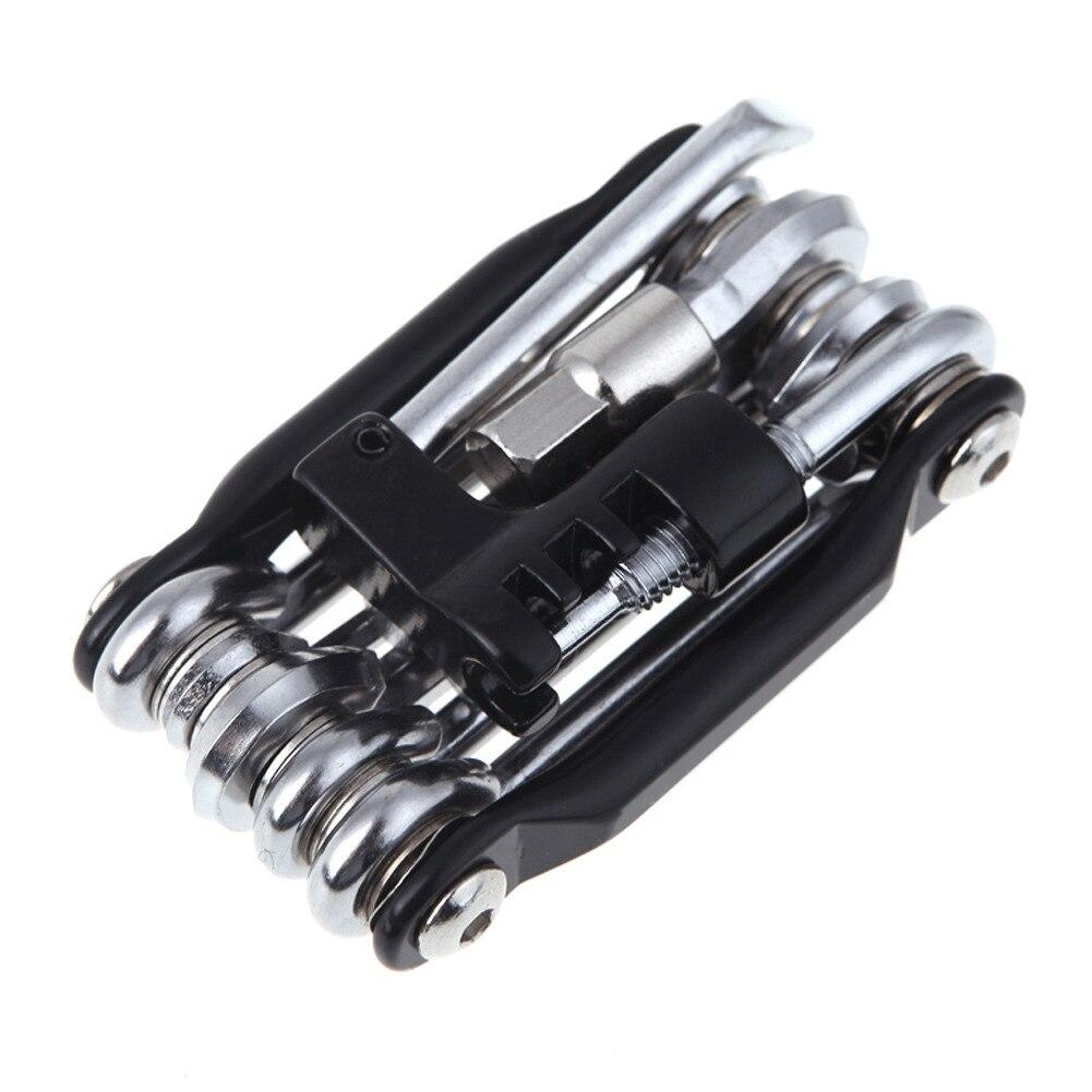 15 в 1 Набор инструментов для ремонта велосипеда набор инструментов для ремонта велосипеда гаечный ключ цепь отвертки велосипед из углеродистой стали многофункциональный инструмент