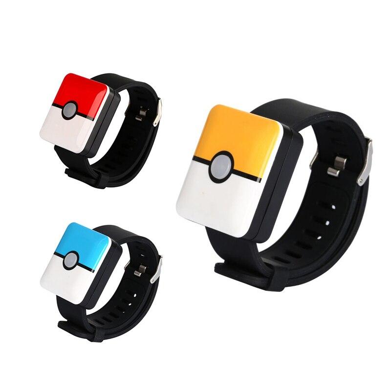 Pulsera Pokemon para Pokemon Go Plus pulsera cuadrada inteligente carga para cambiar versión
