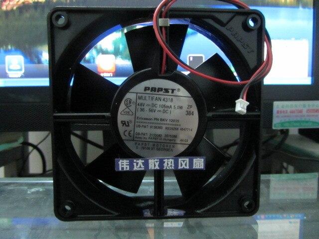 Papst Original MULTIFAN 4318 de 12032 DC 48V 5W120*120*32MM ventilador de refrigeración