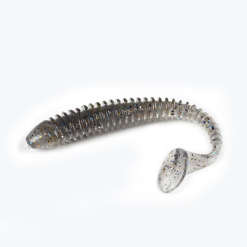 Купить с кэшбэком 10pcs Carp Fishing Lure Set Worm Soft lure shad swimbait red  larva  Bionic Worms Silicone bait For fishing Wobbler For Trolling