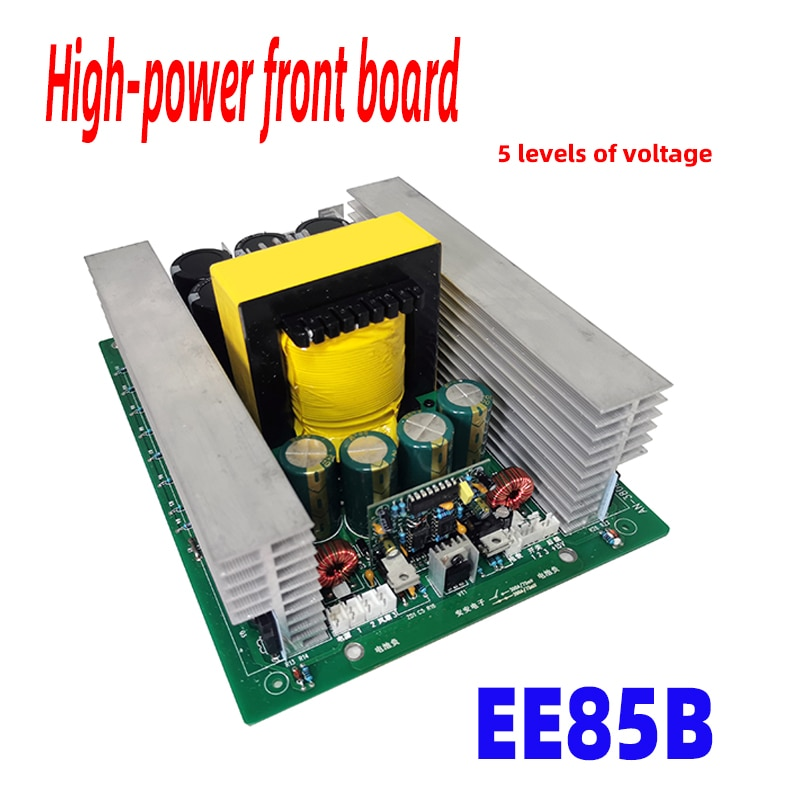 EE85 الأساسية الداعم مجلس عالية التردد شريط نحاسي محول عالية الطاقة أنبوب تأثير المجال العاكس 12 فولت 24 فولت 36 فولت 48 فولت قبل وحدة