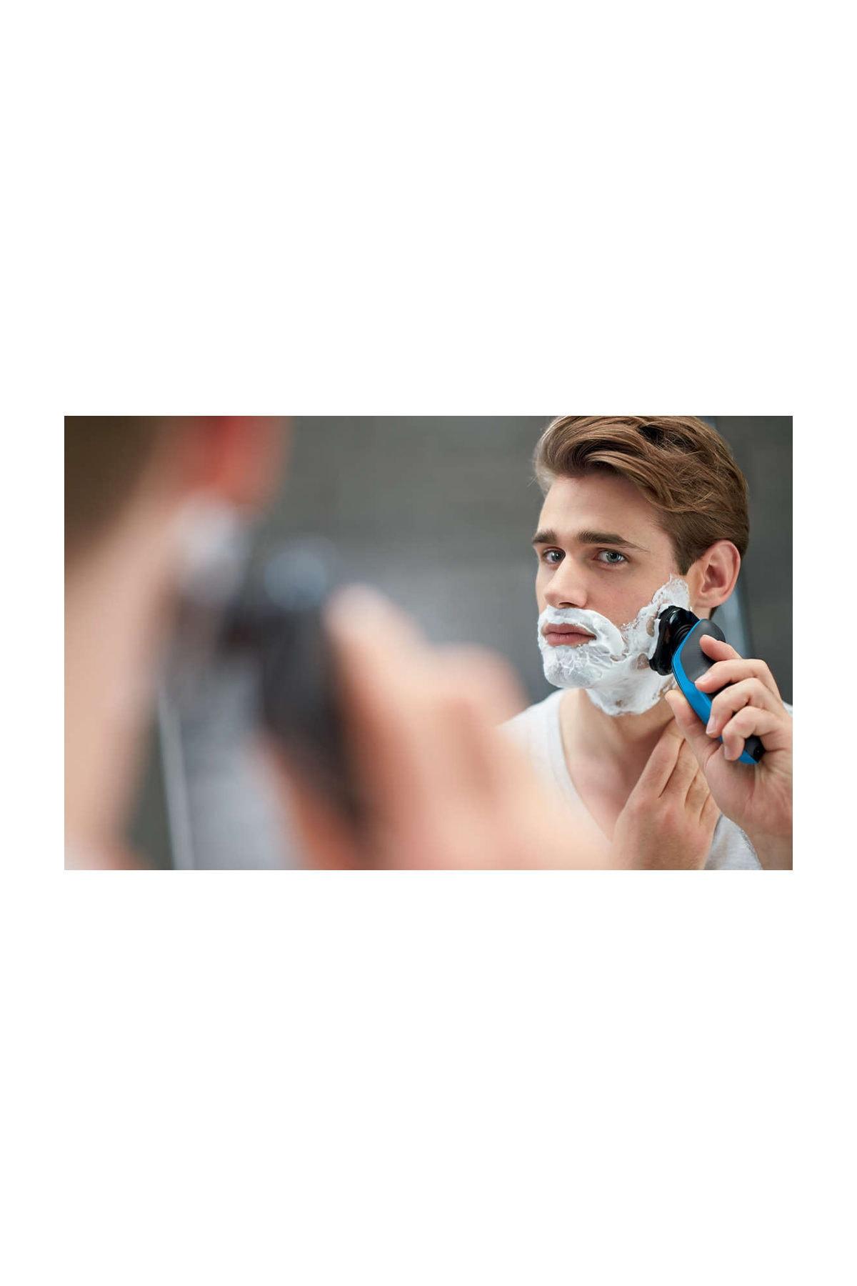Philips 5000 Series S5050 / 06 Wet Dry Cordless Shaver Hair Beard Mustache Body Men Women enlarge