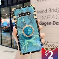 musubo personalized phone case for samsung galaxy s20 ultra s10 lite s9 s8 plus marble soft cover s20 fe s20 funda girls fashion