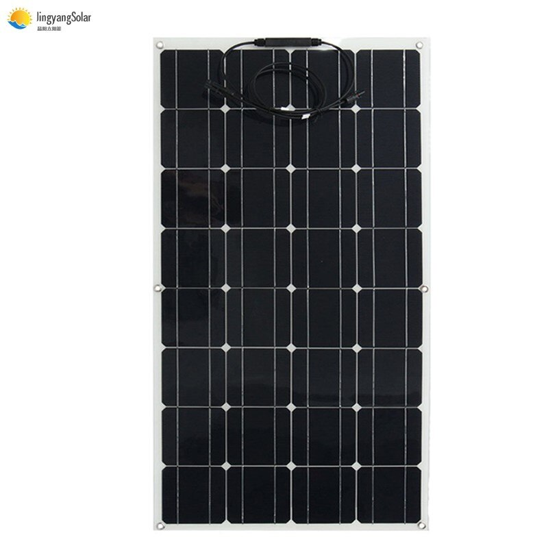 solar panel the price is cheap 100 w flexible solar panel, for 12v battery charger monocrystalline cell