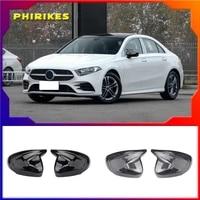 black side mirror cover caps for mercedes benz w177 a class 2018 2019 2020 a220 a180 a250 a200 v177
