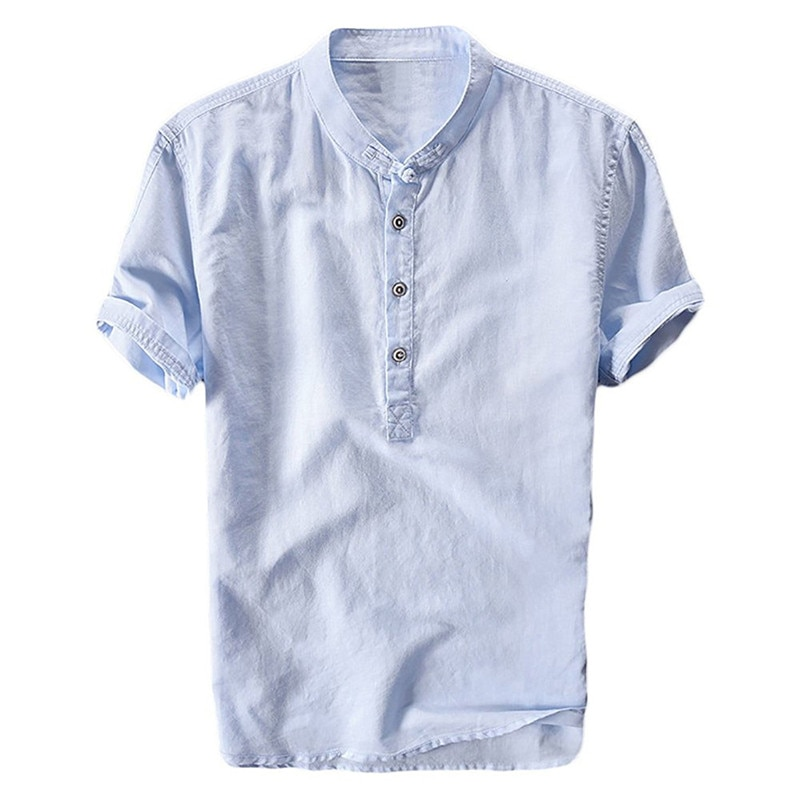 Men's short-sleeved t-shirt new round  summer summer t-shirt men's clothing