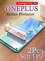Защитная пленка для OnePlus 9, 9R, 8Pro, 8T, 1 +, 7, 7Pro, 7T Pro, 1Plus, 3, 3T, 5, 5T, 6, 6T, Гидрогелевая, мягкая