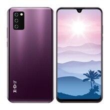 "Xgody nota 10 android 9.0 4g telefones celulares 2gb ram 16gb rom face id 5mp câmera duplo sim gps wifi 7.2 ""19:9 smartphone quad core"