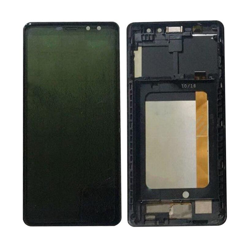 Для M-horse Pure 1 ЖК-дисплей с сенсорным экраном дигитайзер полная стеклянная панель в сборе Moudle Black M horse Pure1
