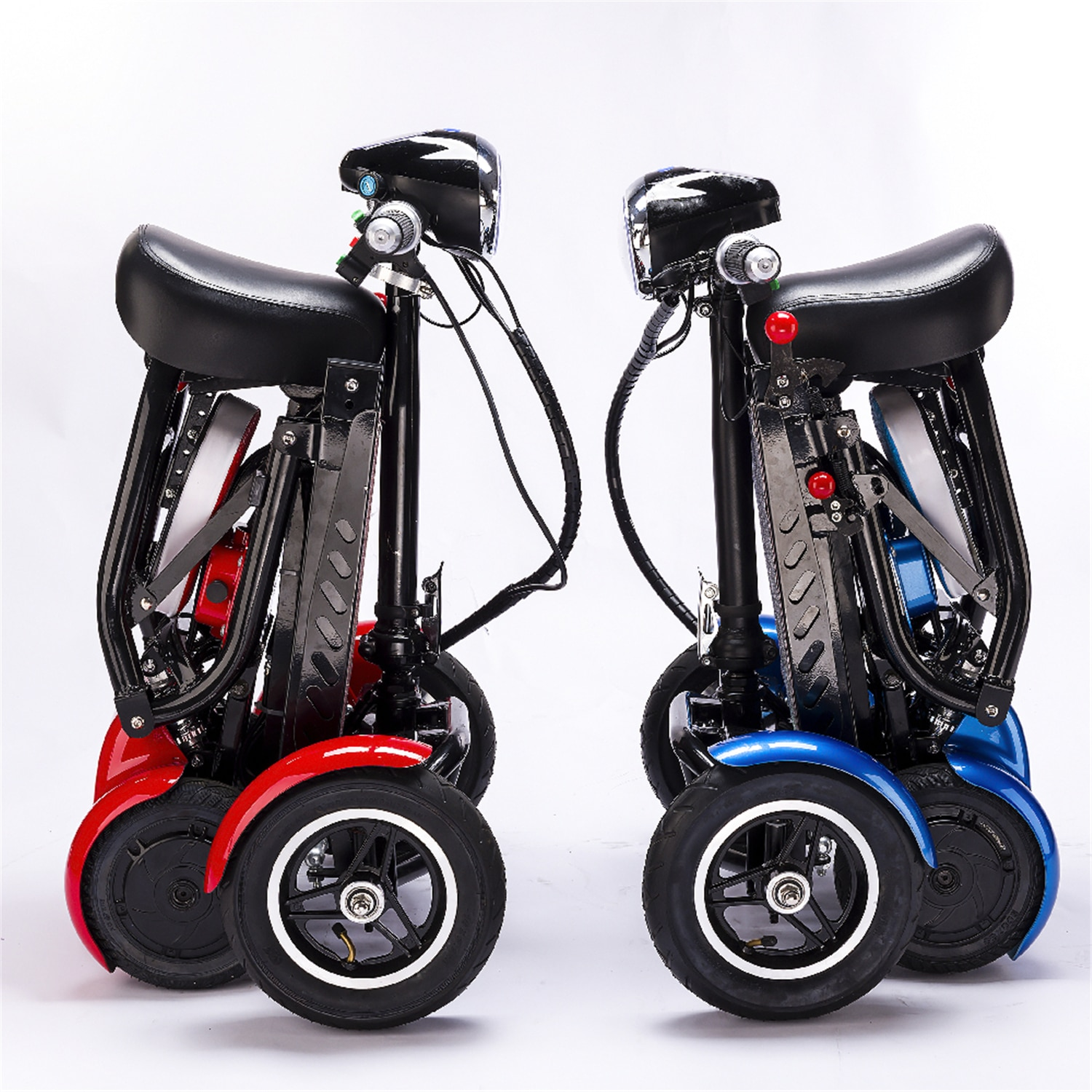 folding electric adult elderly mobility scooter for elderly and disabled adult mobility quadricycle moped portable scooter