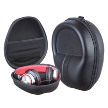 2021 Portable Shockproof Headphone Bag Earphone Case Headset Carry Pouch Storage Bag Hard Box Access