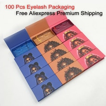 100 шт./лот упаковка для ресниц оптом пустая упаковка для ресниц 25 мм 3d коробка для ресниц пустая упаковка для ресниц Новый чехол для ресниц