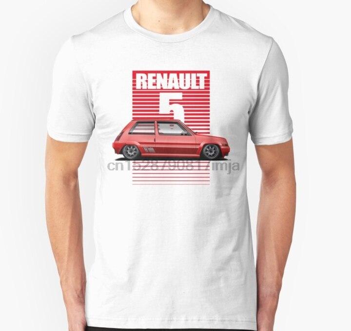 Camiseta Unisex para hombre Renault 5 GT Turbo, camiseta para mujer