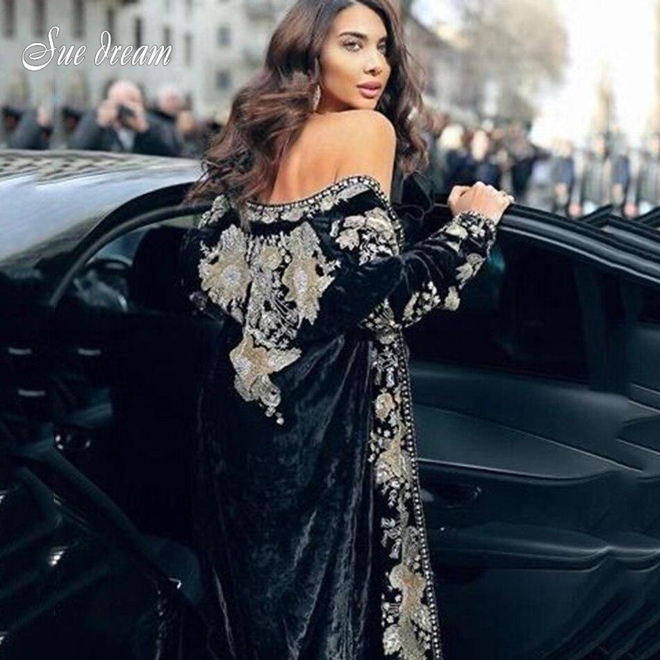 2020 primavera nueva mujer de manga larga abrigo largo negro almazuela retro encaje terciopelo lentejuelas ceñido al cuerpo Club fiesta largo abrigo