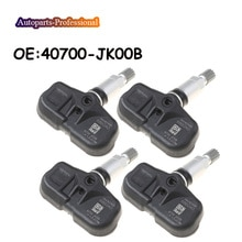 4 pcs/lot New Car For NISSAN INFINIT TPMS Tire Pressure Monitor Sensor 40700-JK00B 40700JK00B Auto P