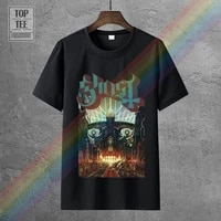 white o neck cotton t shirt rockoff trade mens meliora t shirt black large tshirt ghost official bc