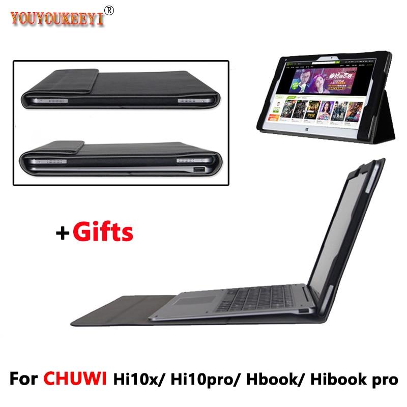Original High-quality Business Folio stand keyboard case For CHUWI Hi10x /Hi10 Pro / HiBook /Hibook Pro 10.1 inch Tablet PC