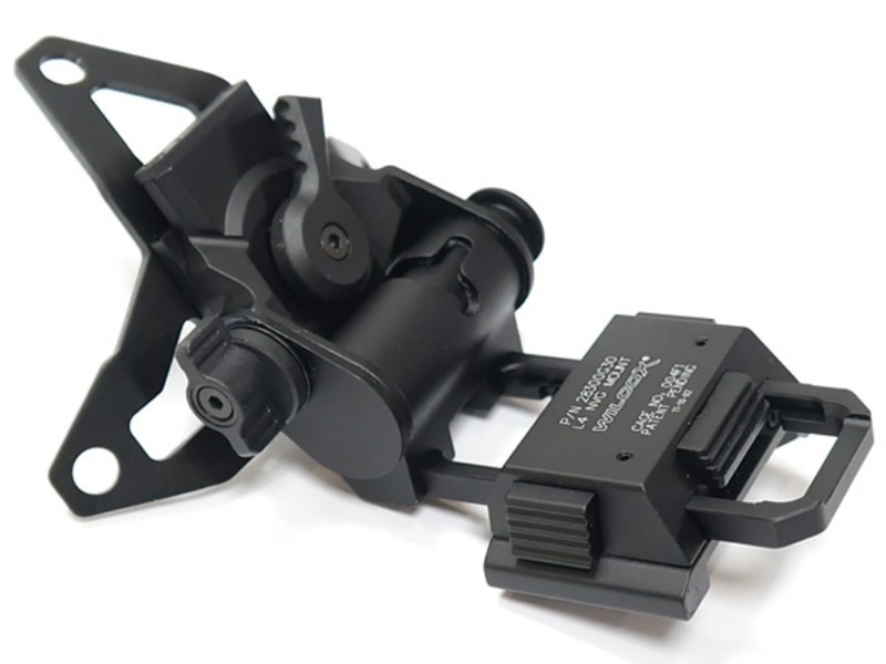 L4G30 Tactical Helmet NVG Mount Aluminum Hunting Accessories AN/PVS-7 14 15 18 21 Night Vision Goggles Airsoft Helmets NVG Mount