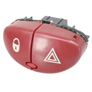 Hazard Warning Flasher Switch Dangerous Light Switch Button for Peugeot 206 207 Citroen C2 6554L0 96403778JK