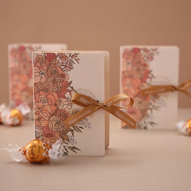 Креативные подарочные коробки, упаковочные пакеты, коробка для конфет, подарки для гостей, свадьбы, Baby Shower Eid Mubarak, товары для мероприятий и в...