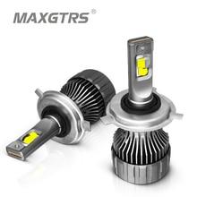 2x XHP50 2.0 PUCE LED H4 SALUT/bas HB2 H7 H8 H11 9005 HB3 9006 HB4 VOITURE Phare Led Ampoule Auto Phare Antibrouillard 12000LM 90W