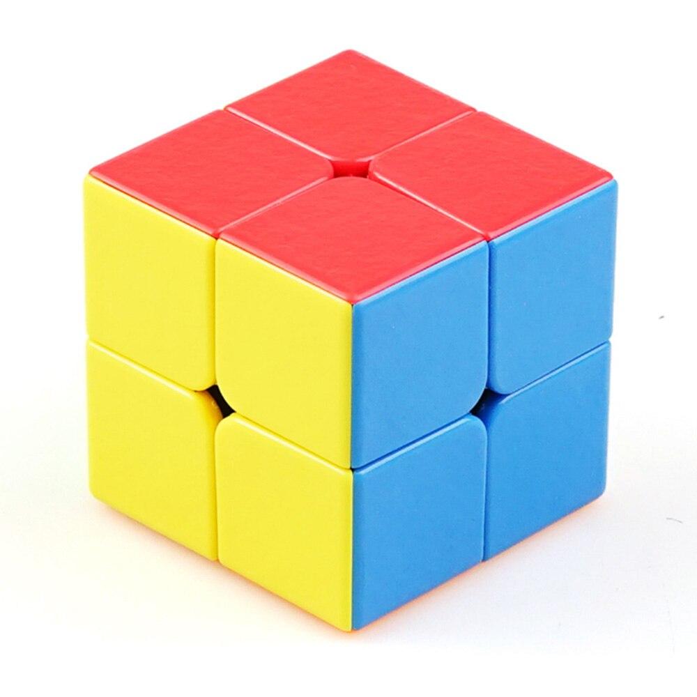 Cubitos IQ ShengShou gema 2x2 cubo Cubo de alta velocidad puzle mágico profesional aprendizaje y educación Cubos magicos chico Juguetes