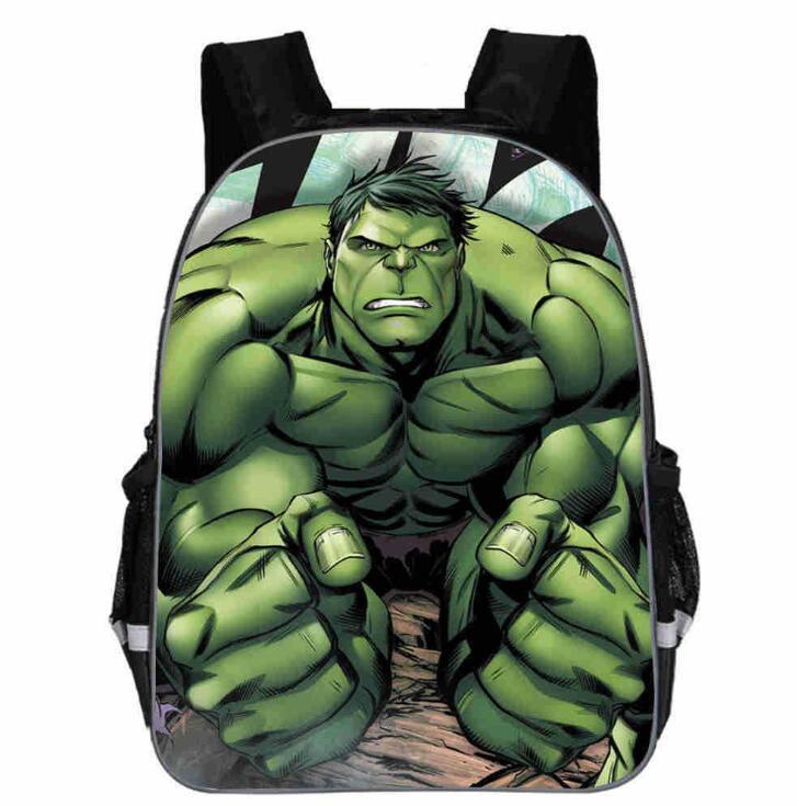 Brand 16 Inch Kids Avengers Infinity War Backpack 3D Printing Cartoon Children School Bags Boys Teenage Mochila
