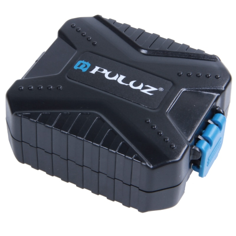 PULUZ, carcasa para tarjetas de memoria, resistente al agua, soporte para tarjeta Micro SD CF TF, caja de almacenamiento Stocker (9 ranuras)