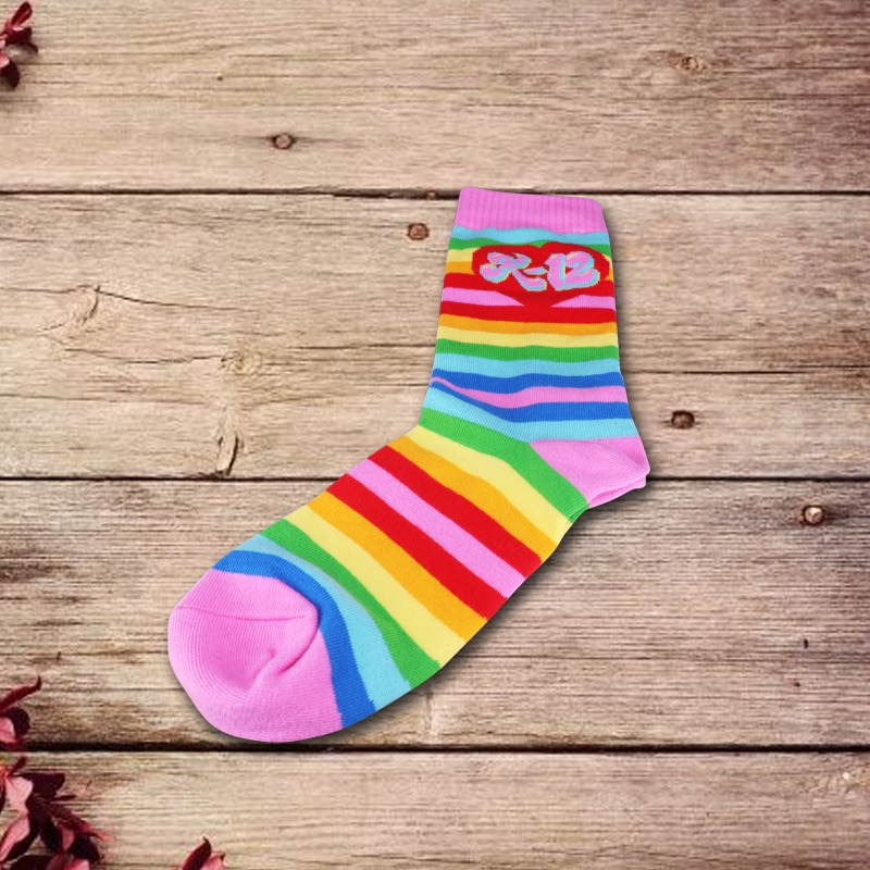 Melanie martinez K-12 meias de arco-íris