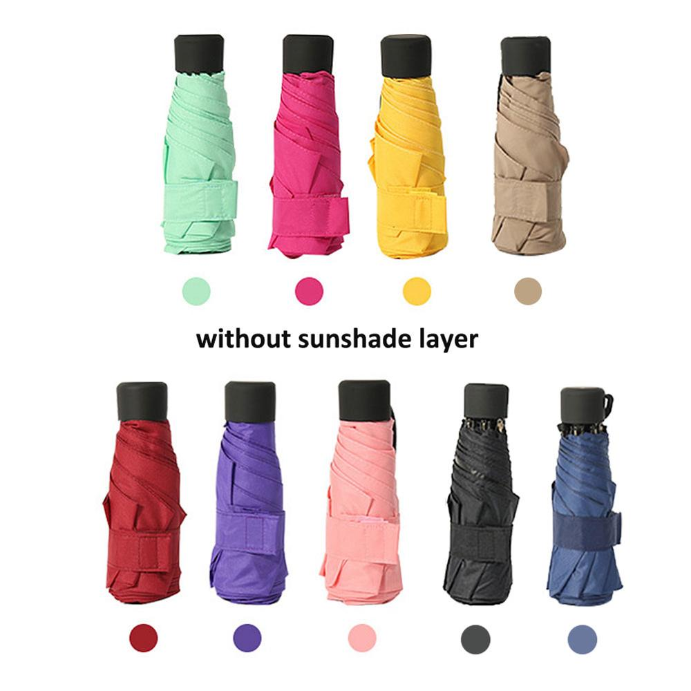 Mini paraguas de bolsillo, paraguas absorbente de agua, cubierta de fibra ultrafina, impermeable, absorbente para paraguas plegable de 30cm