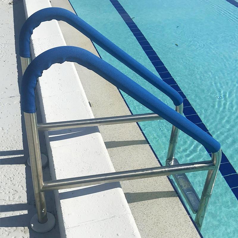 Frio aperto piscina corrimão capa e escada ferroviário segurança aderência cobre 4/6/8/10ft tp899