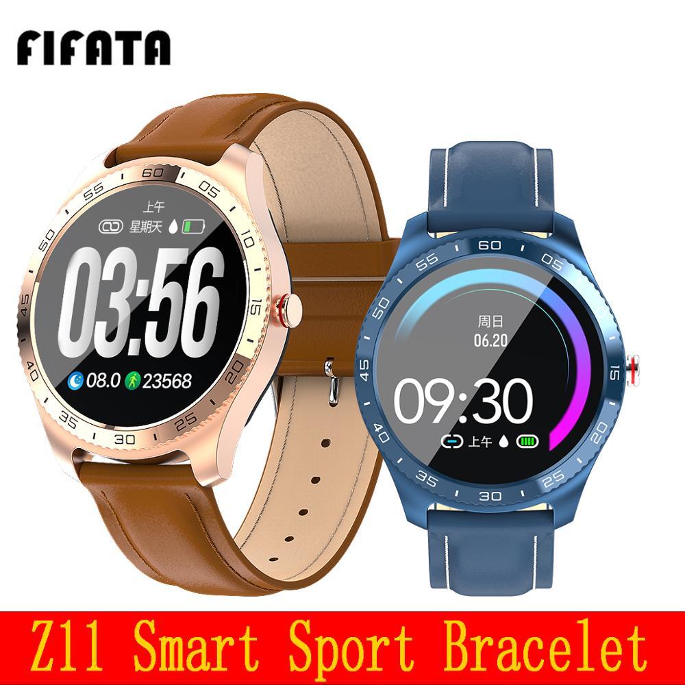 Fifata z11 relógio esporte inteligente dos homens de fitness rastreador esporte pressão arterial monitor sono ip67 à prova dip67 água pk k7 q8 l8 relógio