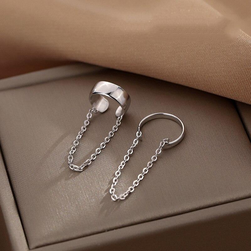 boako-pendientes-плата-925-Серьги-для-Для-женщин-1-шт-цепь-из-звеньев-с-контрфорсом-Серьги-украшения-для-ушного-хряща-пирсинг-уха-Прекрасный-подарок
