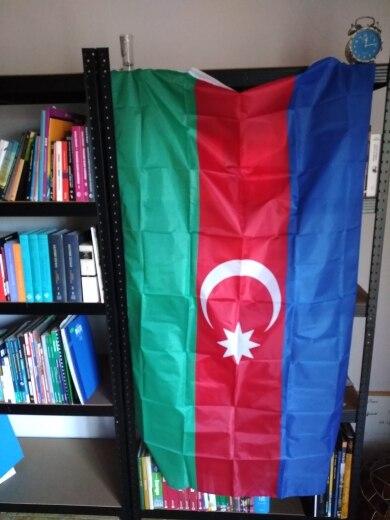 HOT SALE Azerbaijan 90*150cm Flag Hanging National Flag Home Decoration Flag 201 countries flag national flag symbol fridge magnets combine order accept wholesale business souvenirs