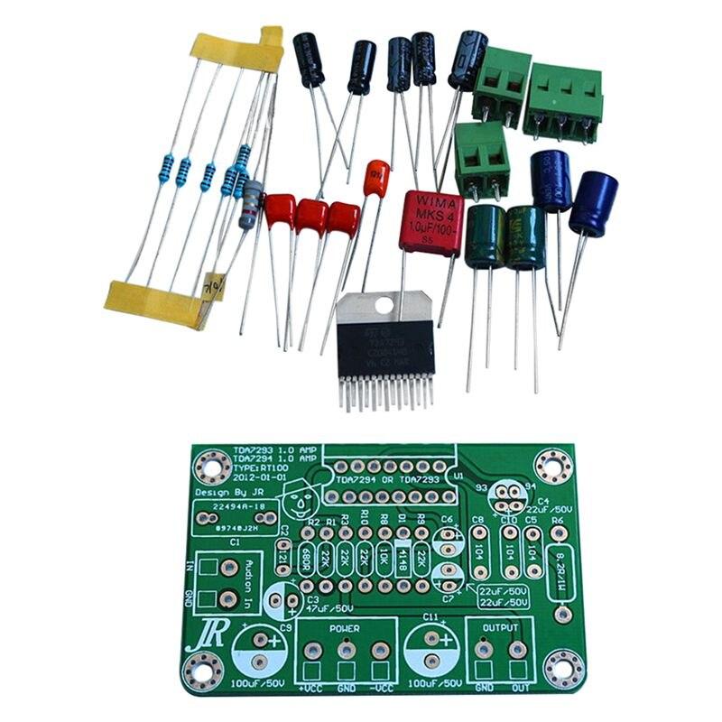 Caliente TDA7294 80W 100W de Audio Mono placa amplificadora de amperios DC30V-40V Kits de TDA7293 verde
