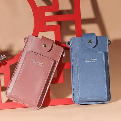 Women Girls Cell Phone Purse Small Crossbody Bags Messenger Handbags Credit Card Holder Wallet